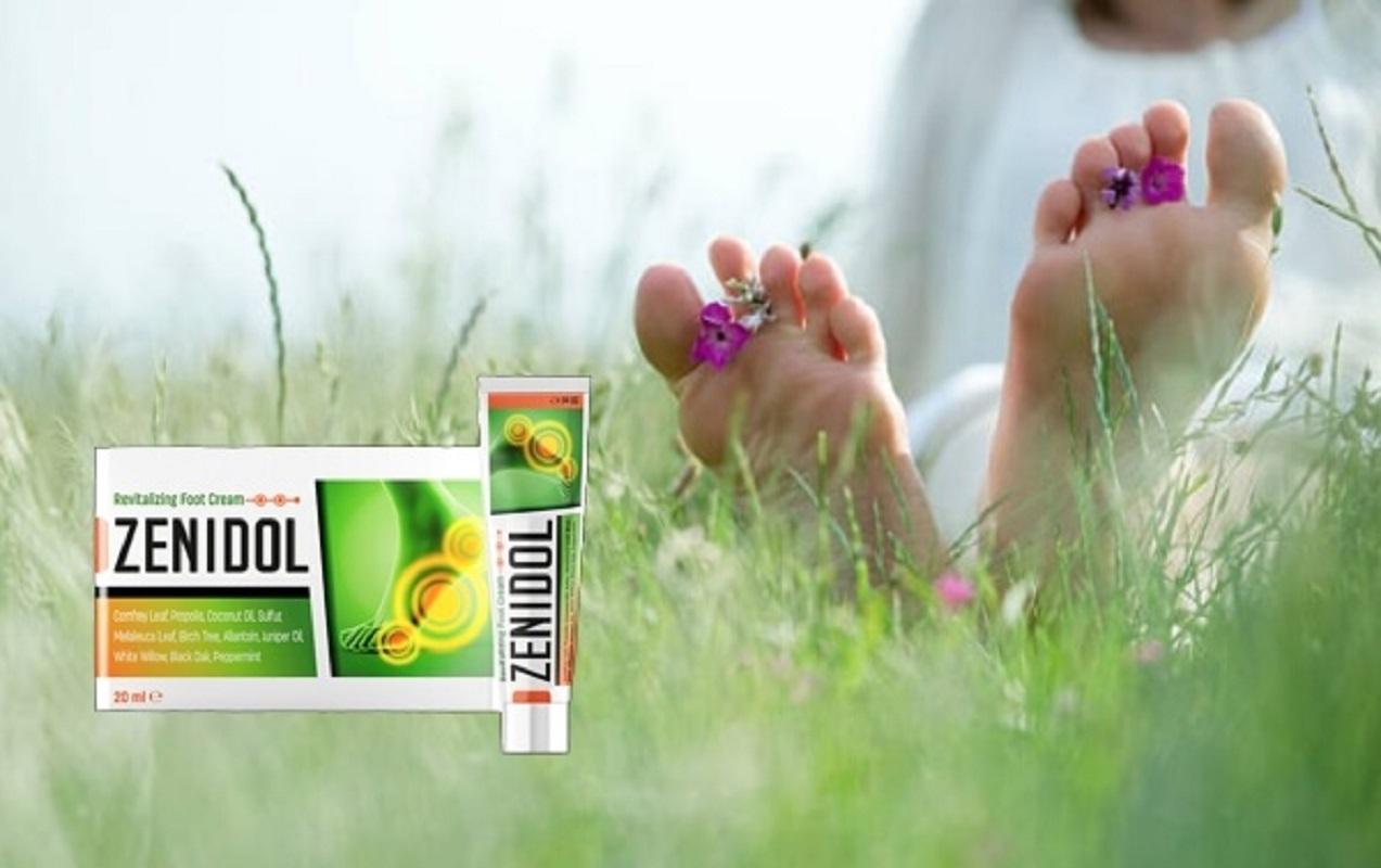 Zenidol para tratar un hongo en las uñas y el pie de atleta